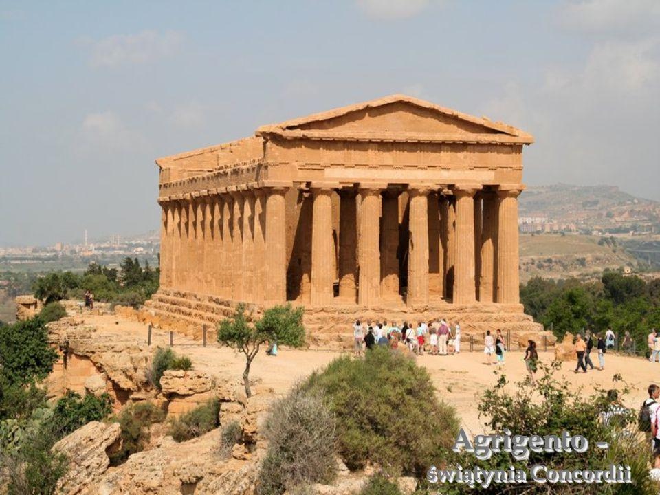 Agrigento – świątynia Concordii
