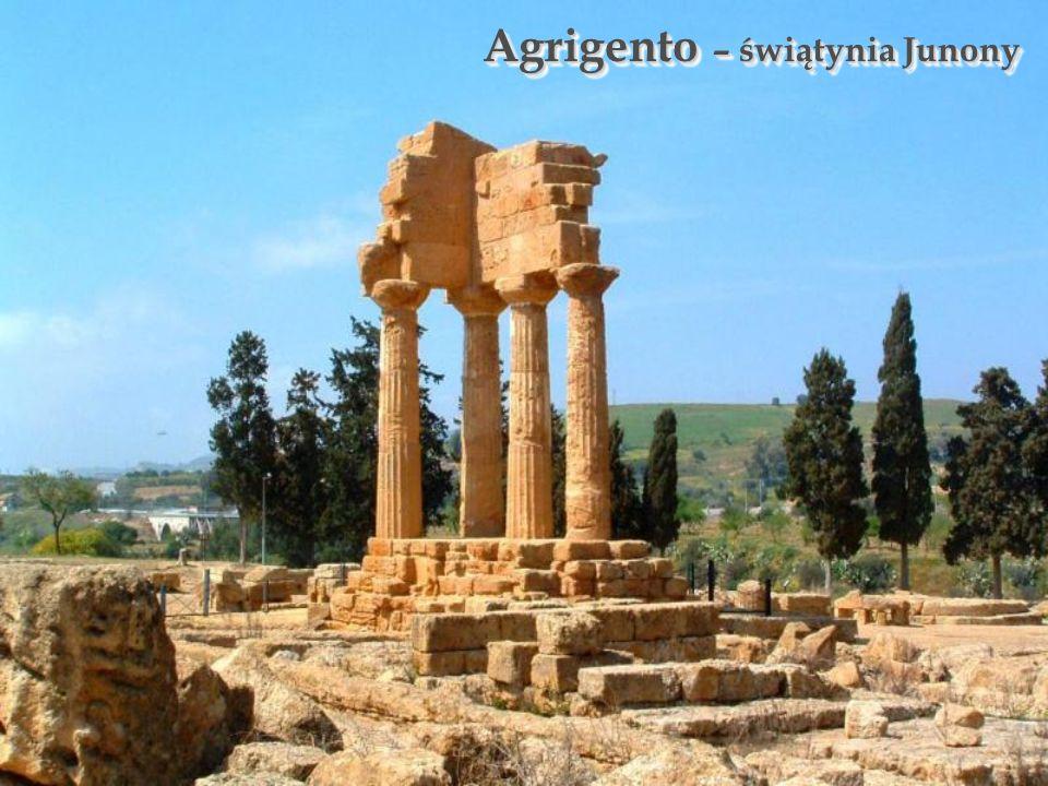 Agrigento – świątynia Junony