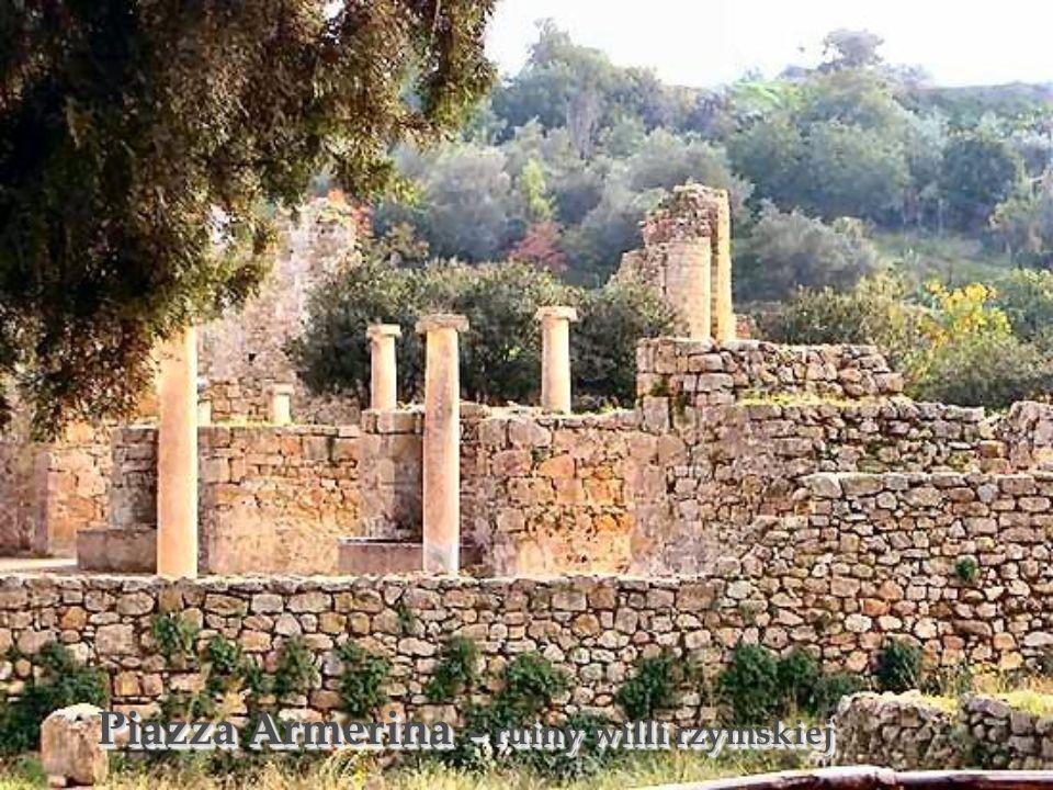 Piazza Armerina – ruiny willi rzymskiej