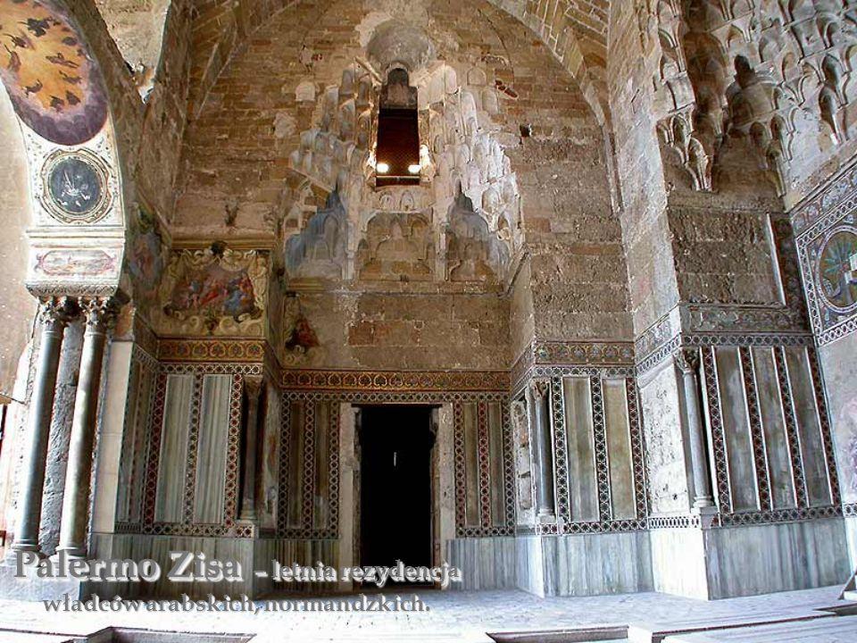 Palermo Zisa – letnia rezydencja władców arabskich, normandzkich.