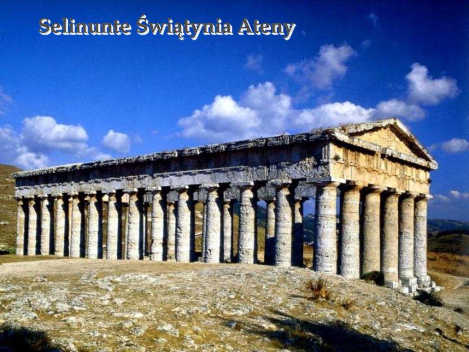 Selinunte Świątynia Ateny