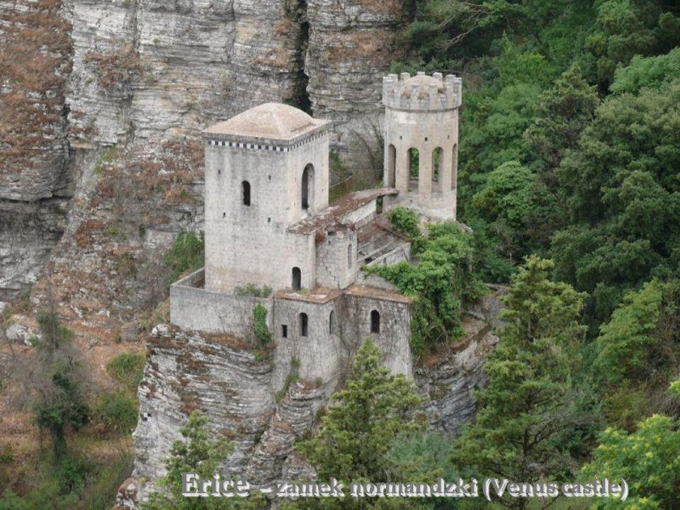 Erice – zamek normandzki (Venus castle)