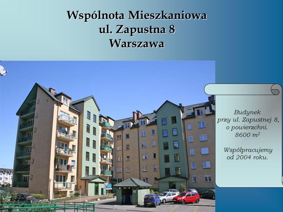 Wspólnota Mieszkaniowa ul. Zapustna 8 Warszawa