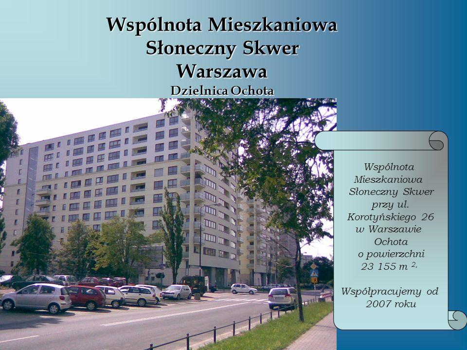 Wspólnota Mieszkaniowa Słoneczny Skwer Warszawa Dzielnica Ochota
