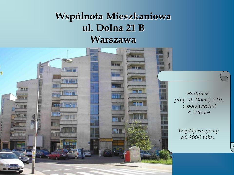 Wspólnota Mieszkaniowa ul. Dolna 21 B Warszawa