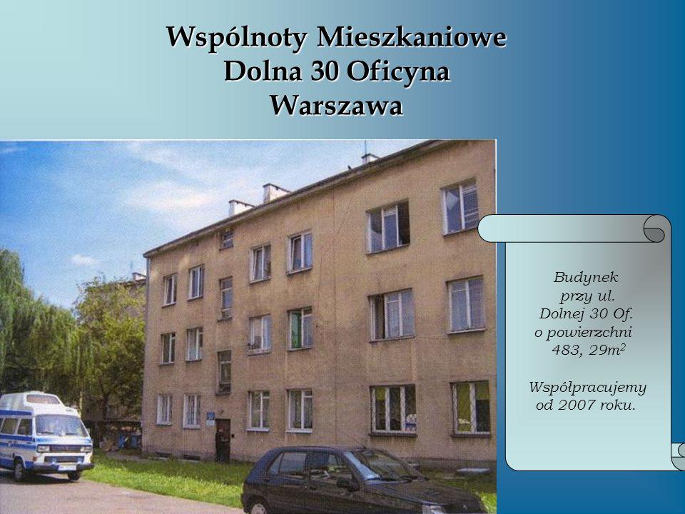 Wspólnoty Mieszkaniowe Dolna 30 Oficyna Warszawa