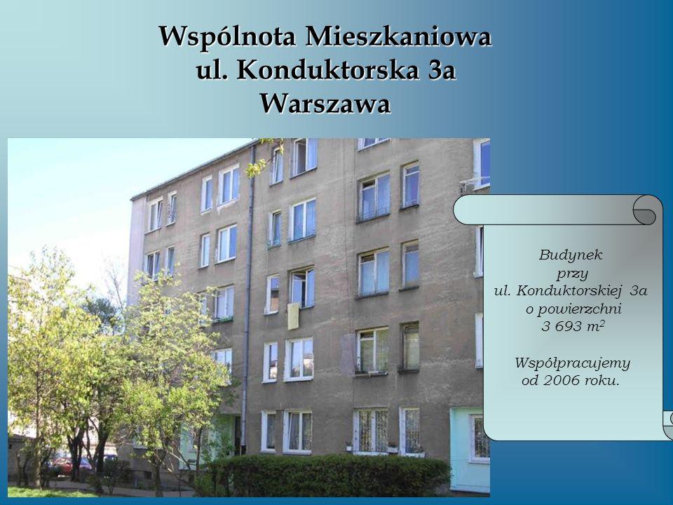 Wspólnota Mieszkaniowa ul. Konduktorska 3a Warszawa