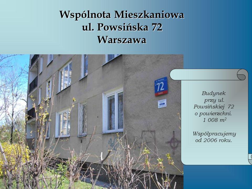 Wspólnota Mieszkaniowa ul. Powsińska 72 Warszawa