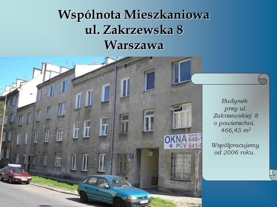 Wspólnota Mieszkaniowa ul. Zakrzewska 8 Warszawa