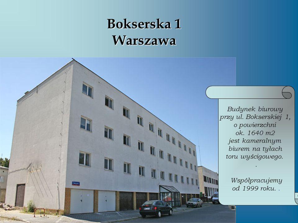 Bokserska 1 Warszawa Budynek biurowy przy ul. Bokserskiej 1,