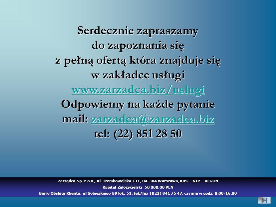 Kapitał Założycielski 50 000,00 PLN