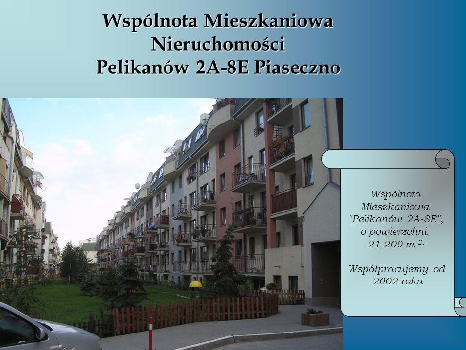 Wspólnota Mieszkaniowa Nieruchomości Pelikanów 2A-8E Piaseczno