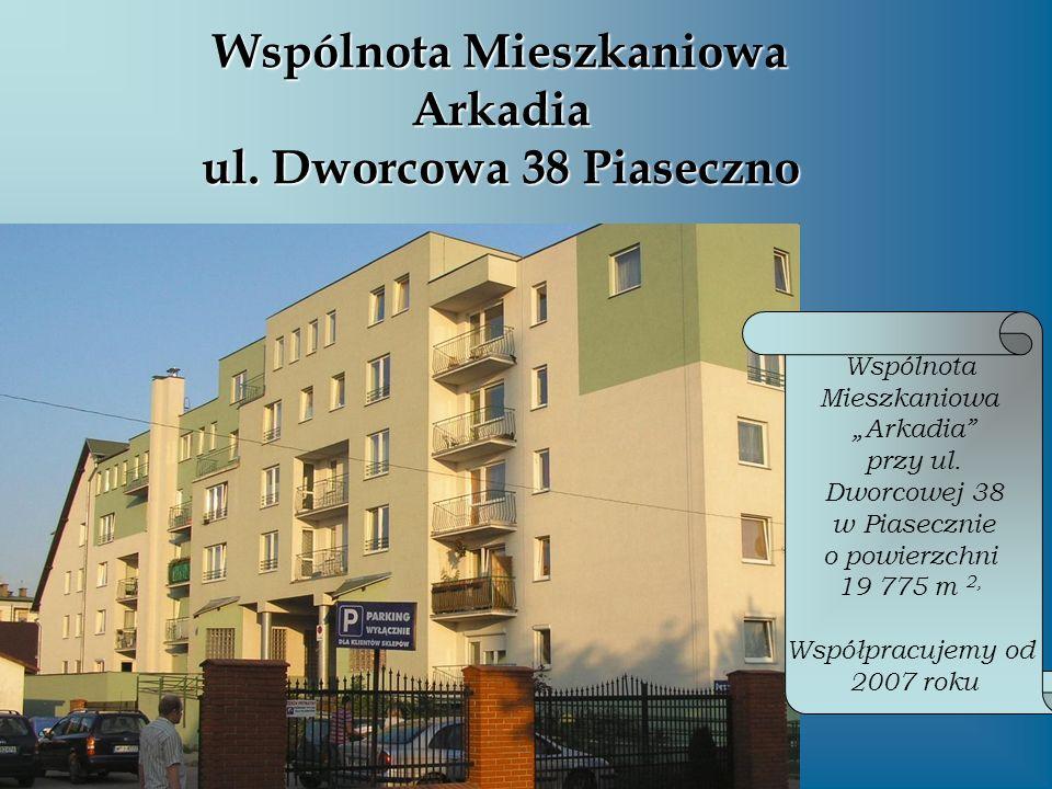 Wspólnota Mieszkaniowa Arkadia ul. Dworcowa 38 Piaseczno