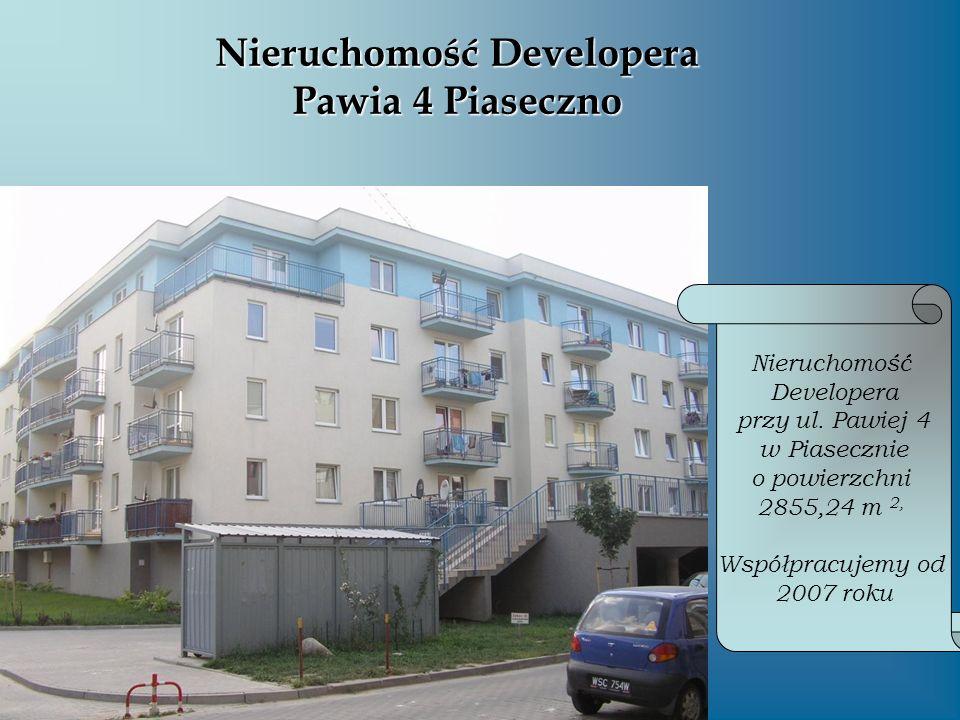 Nieruchomość Developera Pawia 4 Piaseczno