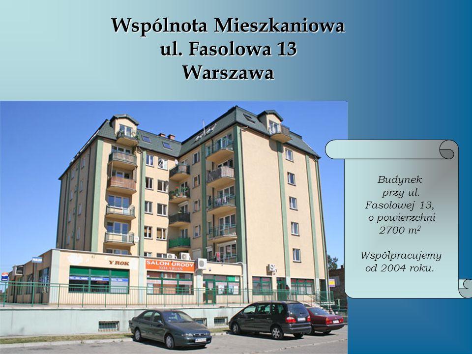 Wspólnota Mieszkaniowa ul. Fasolowa 13 Warszawa