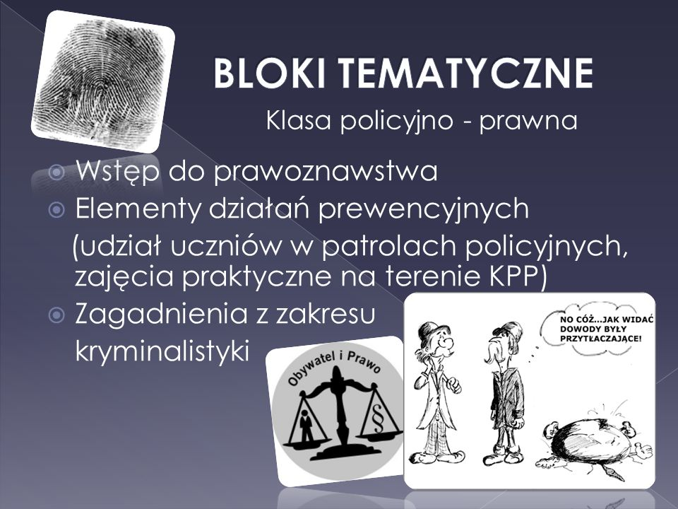 Klasa policyjno - prawna