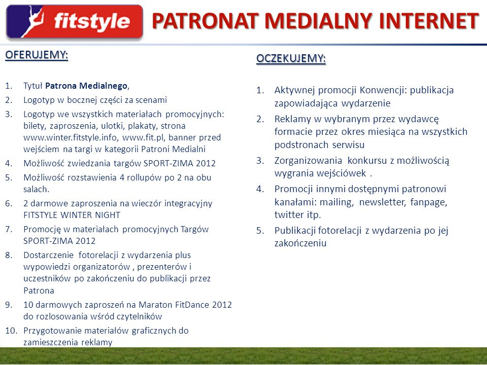 PATRONAT MEDIALNY INTERNET