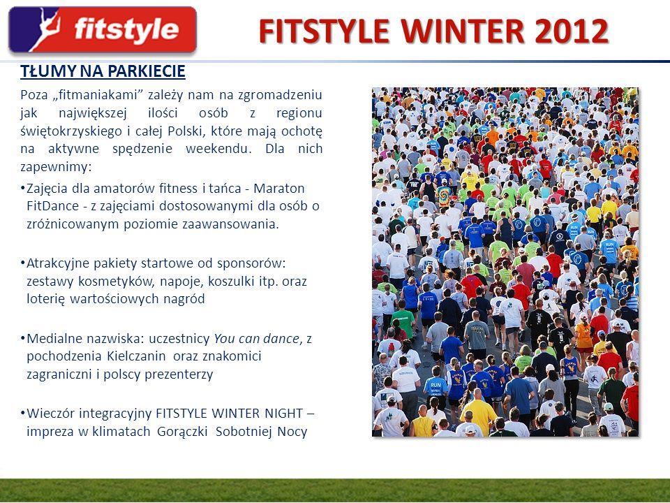 FITSTYLE WINTER 2012 GRUPA FIT.PL TŁUMY NA PARKIECIE