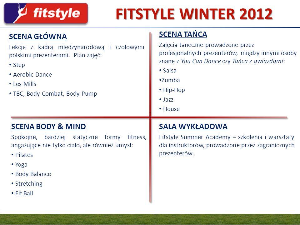 FITSTYLE WINTER 2012 GRUPA FIT.PL SCENA TAŃCA SCENA GŁÓWNA