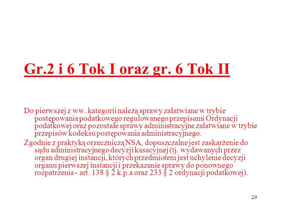 Gr.2 i 6 Tok I oraz gr. 6 Tok II