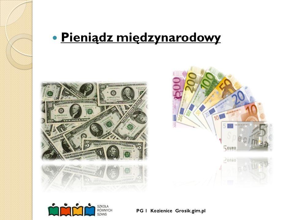 Pieniądz międzynarodowy