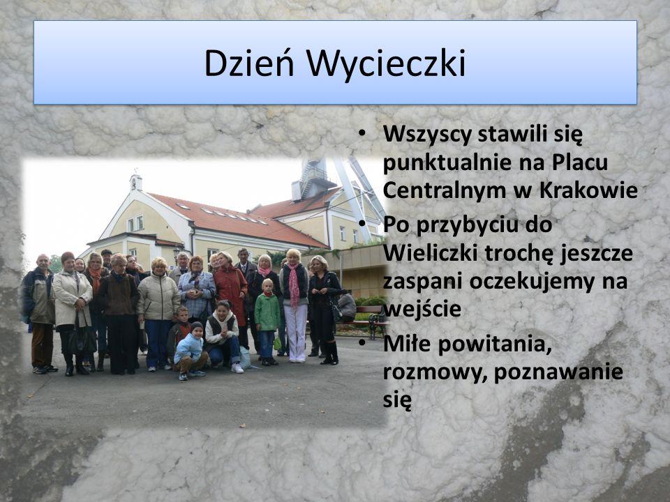 Dzień Wycieczki Wszyscy stawili się punktualnie na Placu Centralnym w Krakowie.