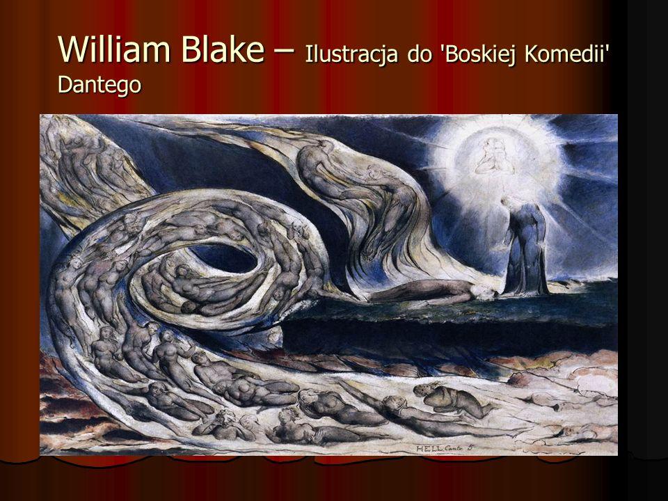 William Blake – Ilustracja do Boskiej Komedii Dantego