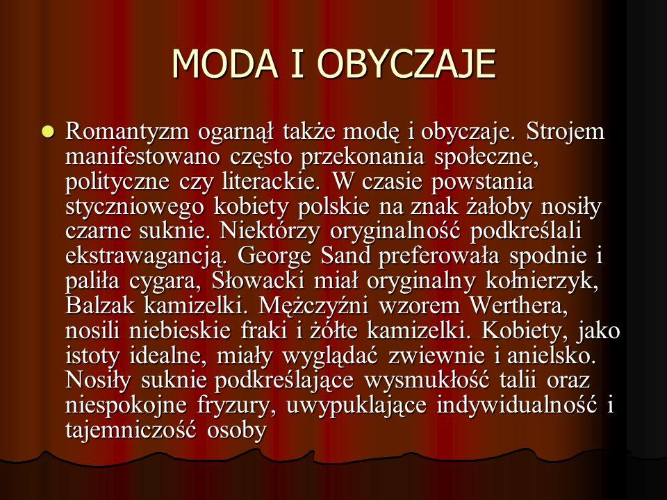 MODA I OBYCZAJE