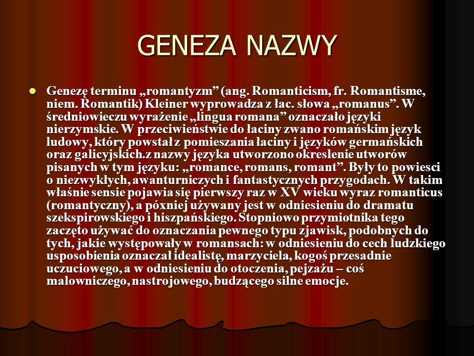 GENEZA NAZWY