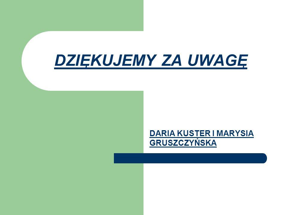 DARIA KUSTER I MARYSIA GRUSZCZYŃSKA
