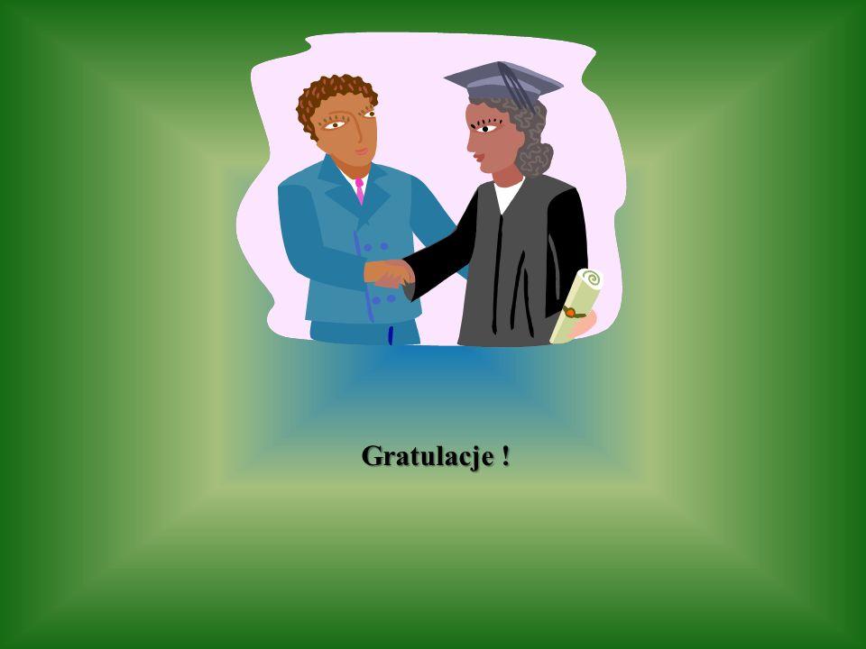 Gratulacje !