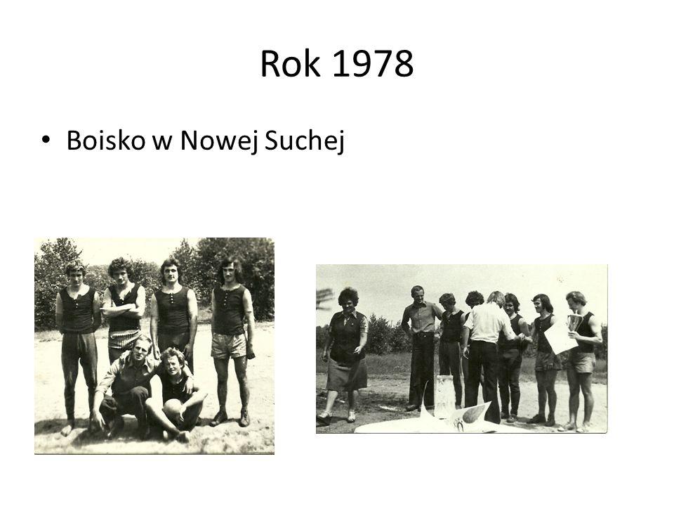 Rok 1978 Boisko w Nowej Suchej