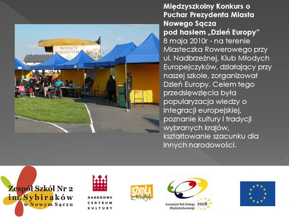 Międzyszkolny Konkurs o Puchar Prezydenta Miasta Nowego Sącza