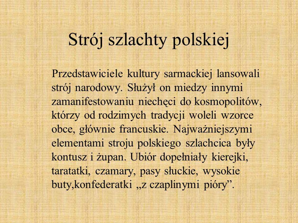 Strój szlachty polskiej