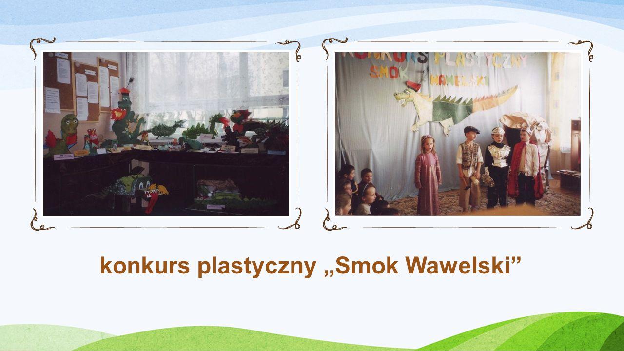 """konkurs plastyczny """"Smok Wawelski"""
