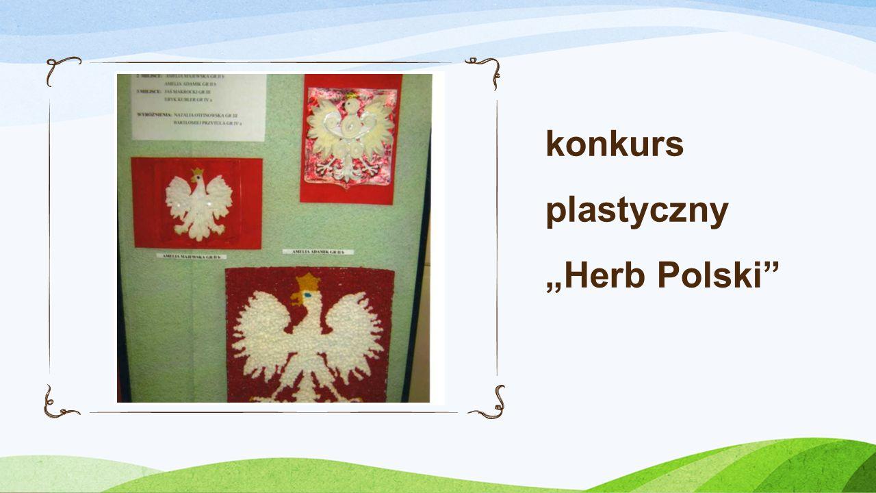 """konkurs plastyczny """"Herb Polski"""