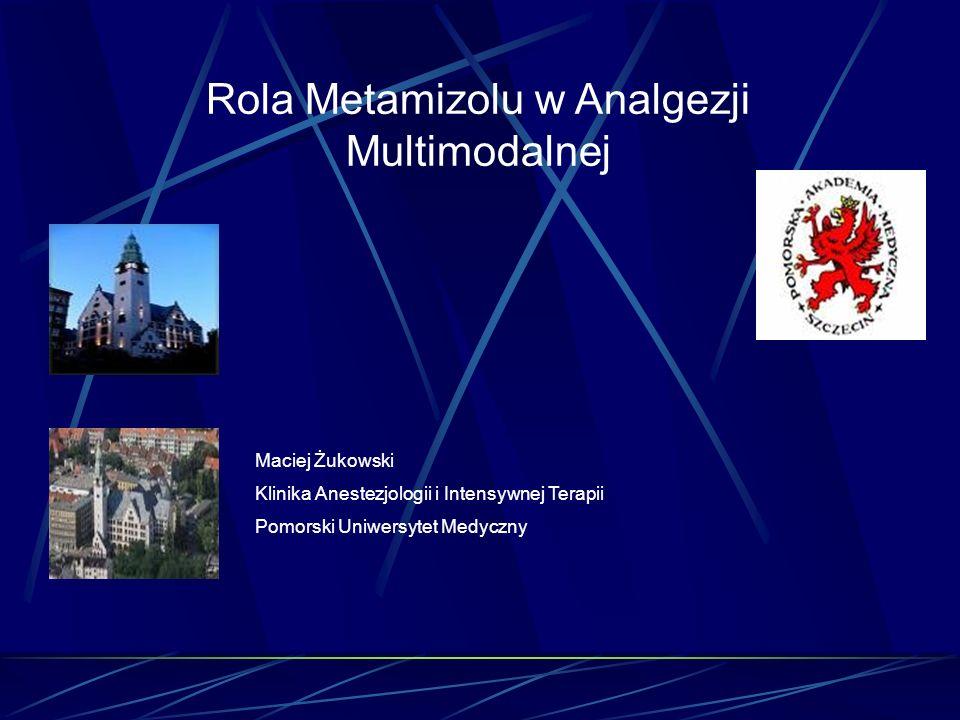 Rola Metamizolu w Analgezji Multimodalnej