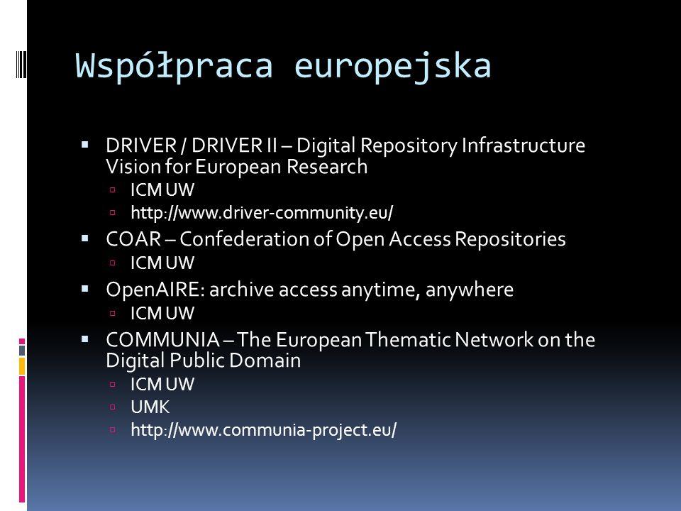 Współpraca europejska