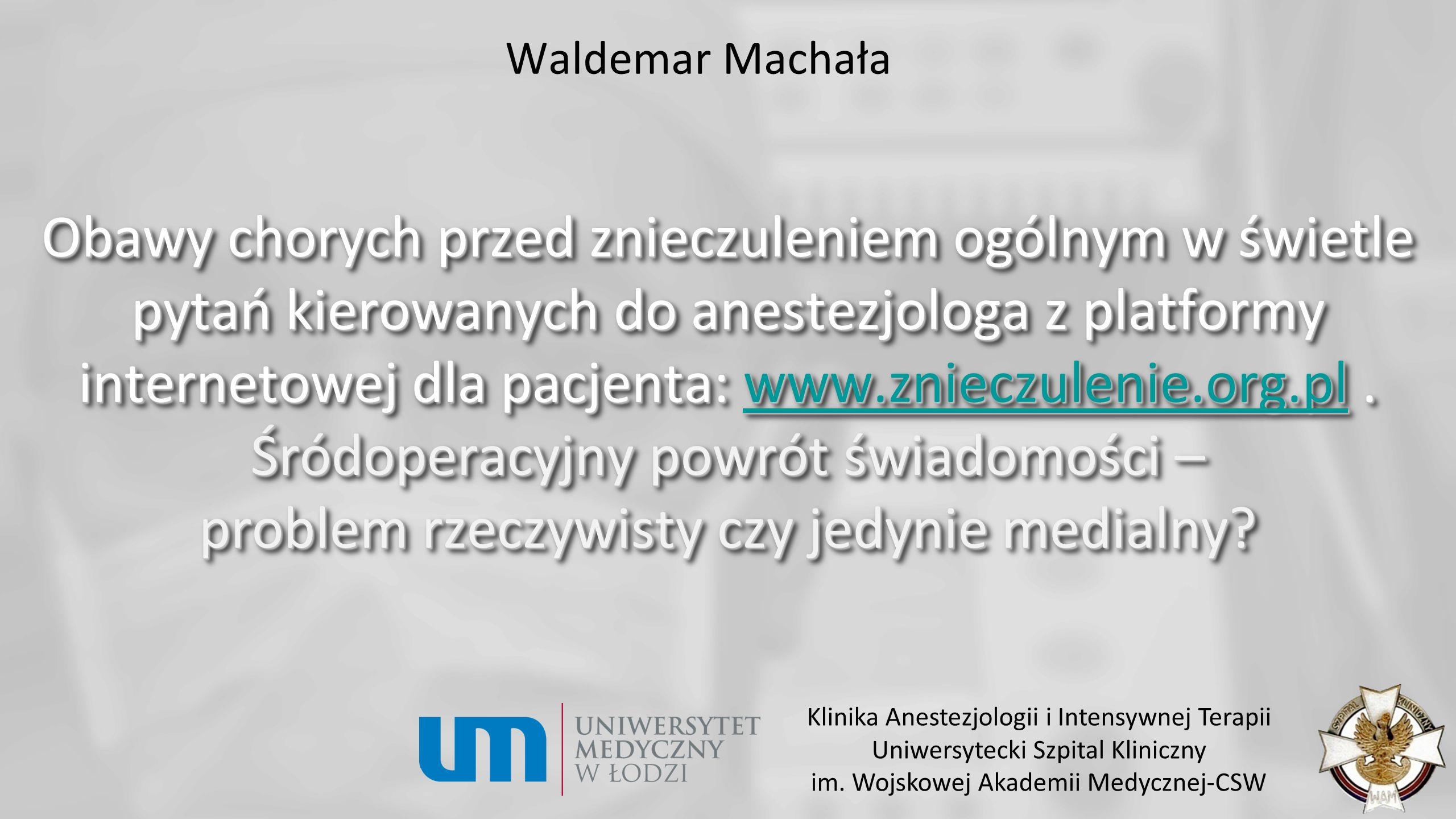 Waldemar Machała