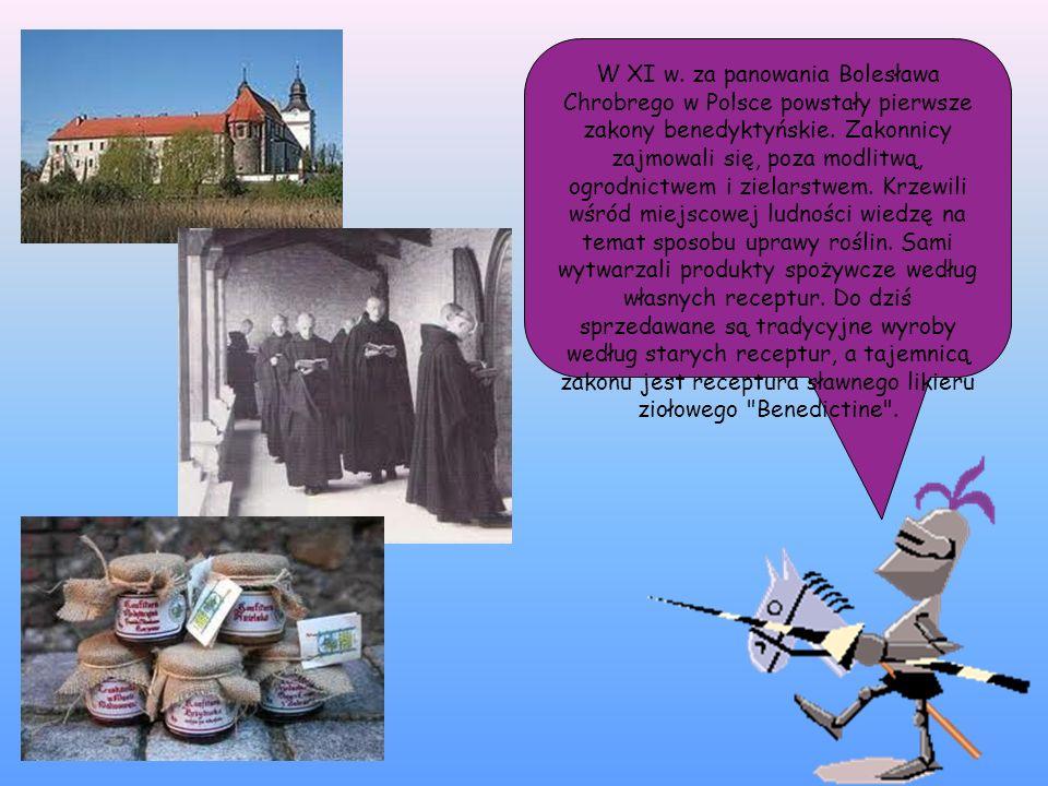 W XI w. za panowania Bolesława Chrobrego w Polsce powstały pierwsze zakony benedyktyńskie.