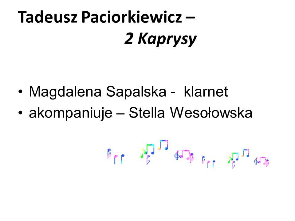 Tadeusz Paciorkiewicz – 2 Kaprysy