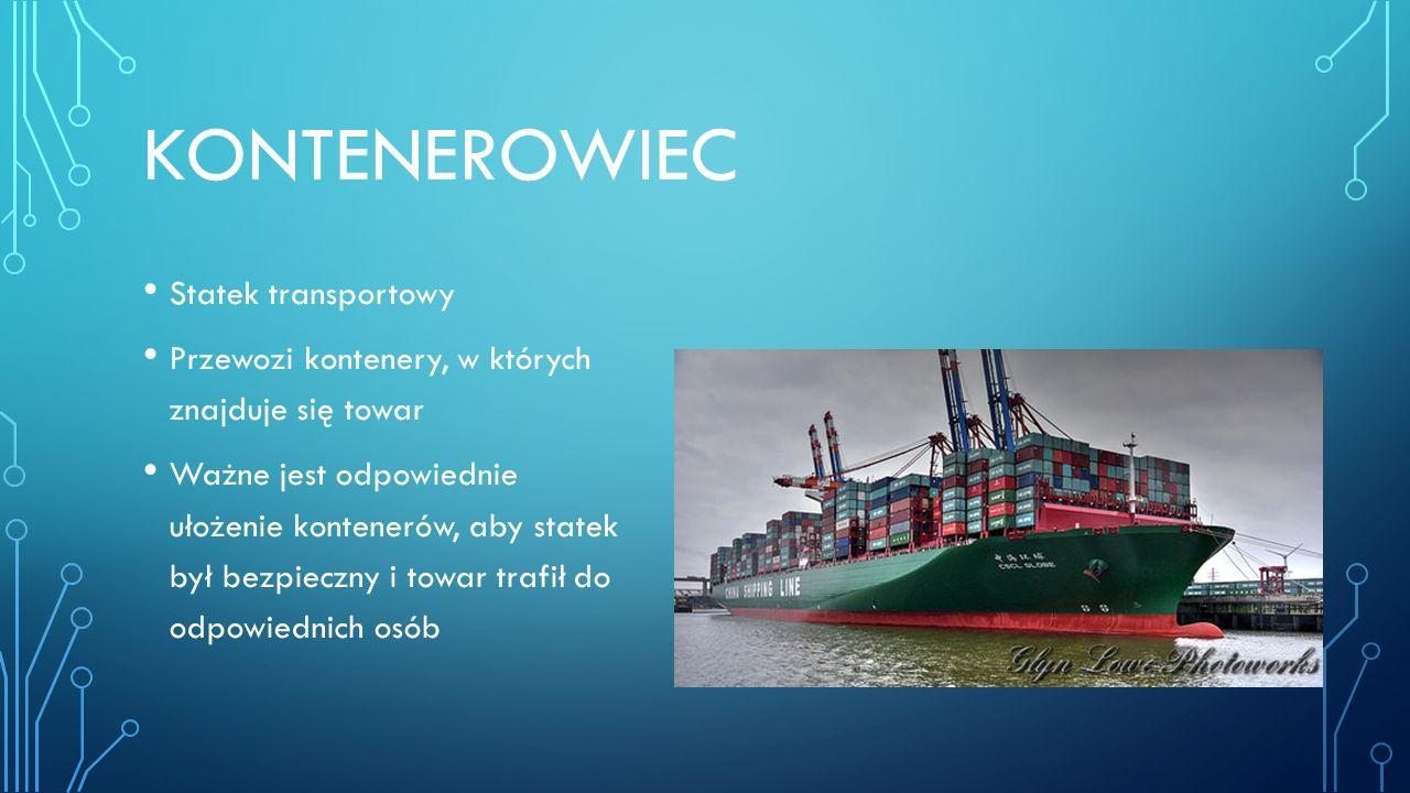 kontenerowiec Statek transportowy