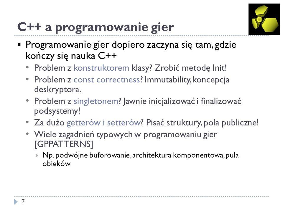 C++ a programowanie gier
