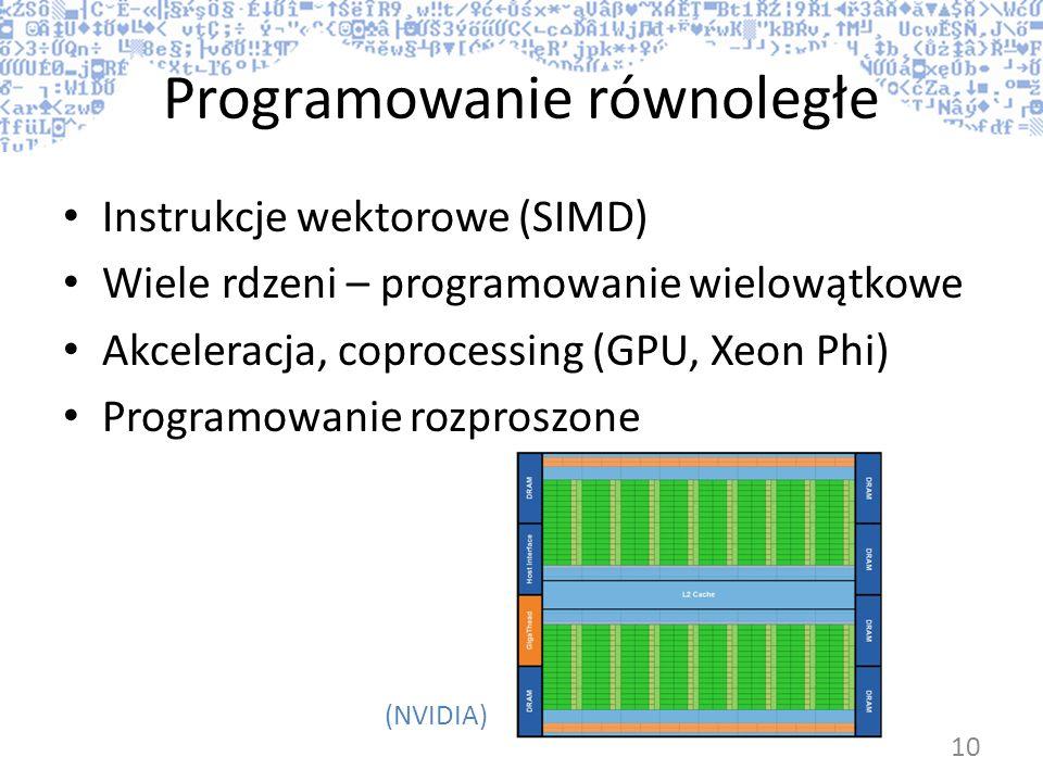 Programowanie równoległe