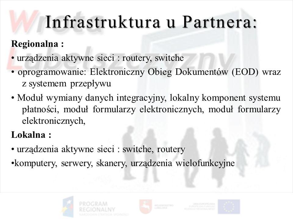 Infrastruktura u Partnera: