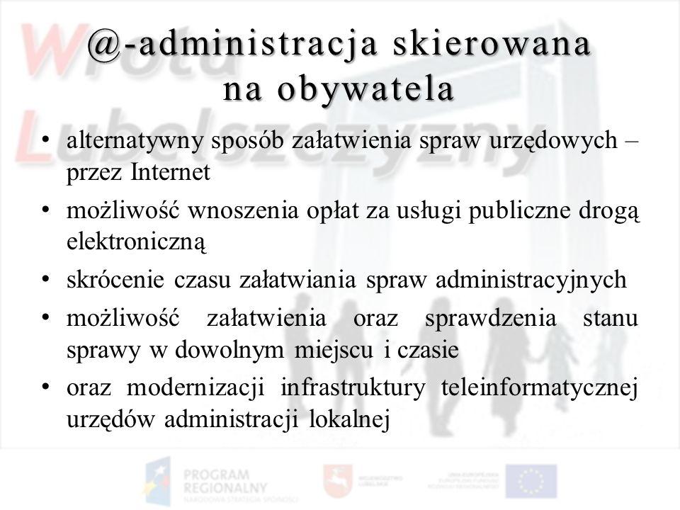 @-administracja skierowana na obywatela