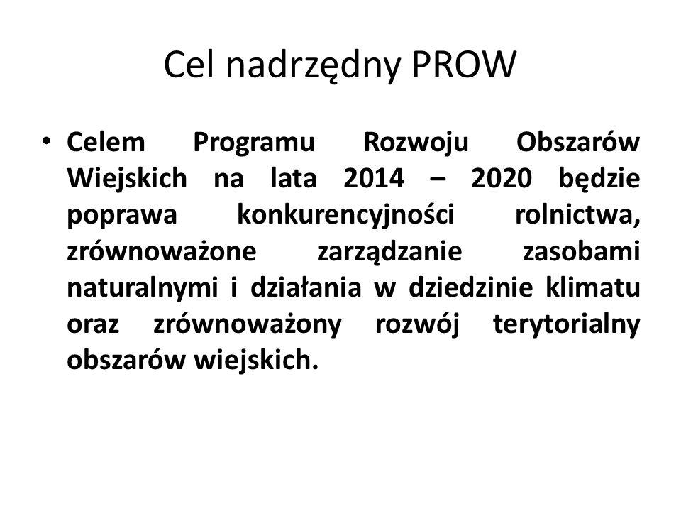 Cel nadrzędny PROW
