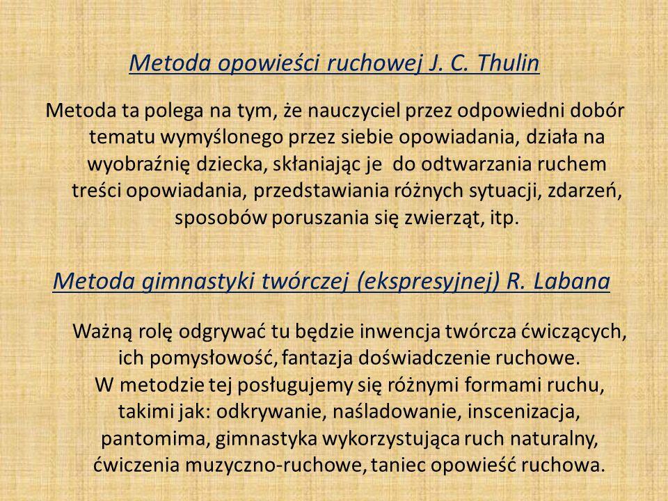 Metoda opowieści ruchowej J. C. Thulin