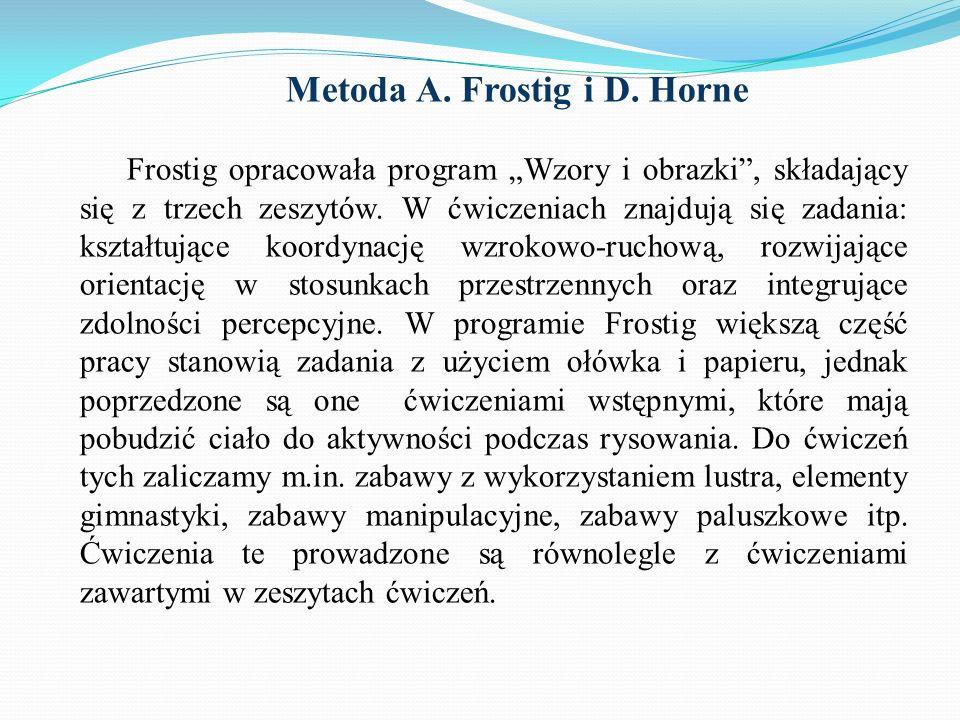 Metoda A. Frostig i D. Horne