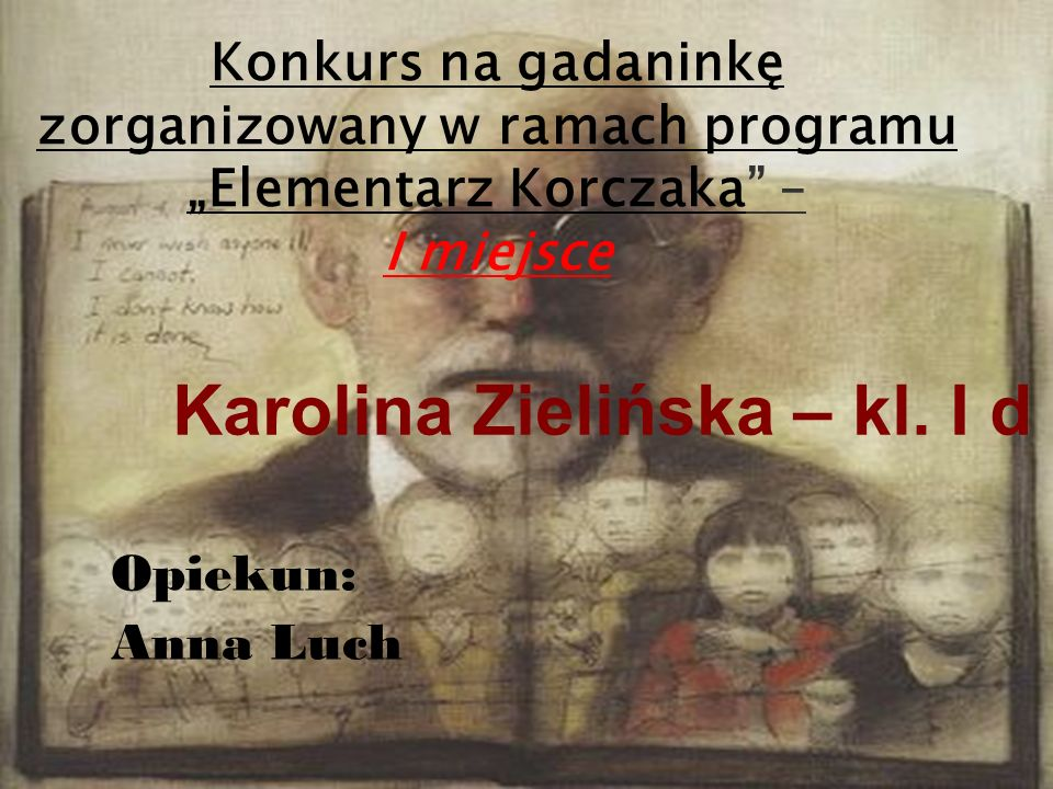 Karolina Zielińska – kl. I d